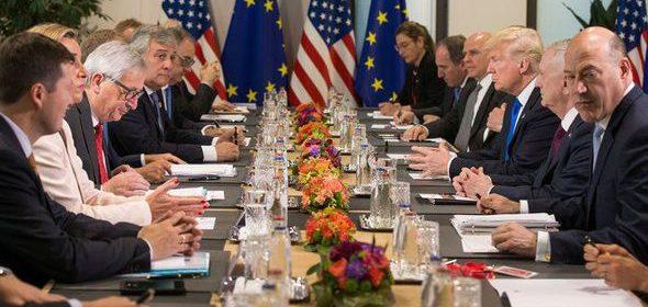 Afbeeldingsresultaat voor images of EU-US TTIP opening talks